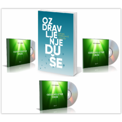 """Komplet """"Ozdravljenje duše"""" (knjiga + 3 cd)"""