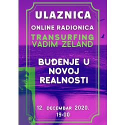 TRANSURFING: Buđenje u novoj realnosti 12.12.2020.