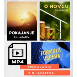 Tri video-predavanja S.N. Lazareva: Pokajanje • Formula uspeha • O novcu (mp4)