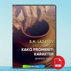 S.N. Lazarev: Kako promeniti karakter - praktični koraci (dvd) - video fajl